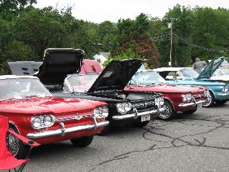 Bay State Corvair Rally, Clark's Corvairs, Shelburne Falls, MA