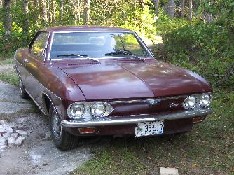 Corvair Monza Coupe
